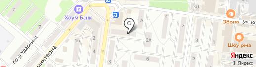 Аптека на Калинина на карте Королёва
