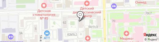 Кропс Групп на карте Москвы
