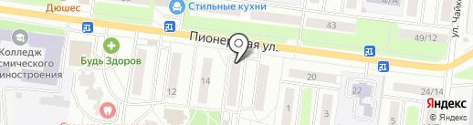 МясКо на карте Королёва