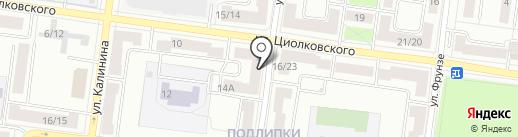 Каталея на карте Королёва