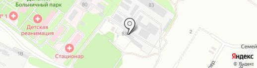 АлексСтройОпт на карте Старого Оскола
