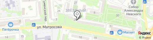 Мастерская по ремонту обуви на ул. Звездный микрорайон на карте Старого Оскола