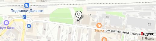 Лимпопо на карте Королёва
