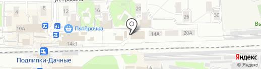 Снабинвест на карте Королёва