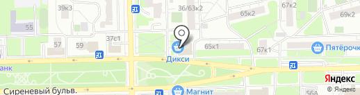 Многопрофильный магазин на карте Москвы