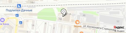 Павильон МиС на карте Королёва