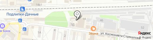 Улыбка радуги на карте Королёва