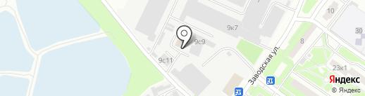 Полигран на карте Пушкино
