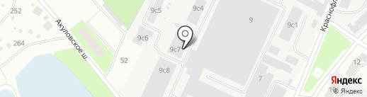 Нормогранд на карте Пушкино