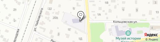 Детский сад №64, Мальвина на карте Пушкино
