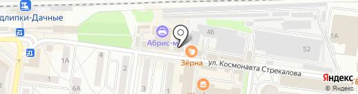 Судак на карте Королёва