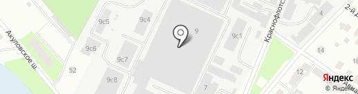 ЭкоТехноСтрой на карте Пушкино