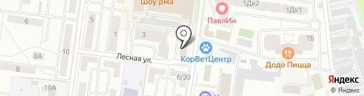 Подмосковье на карте Королёва