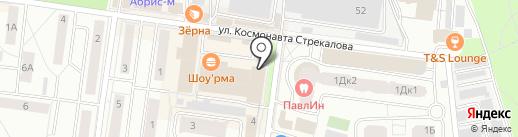 Мебельная мастерская на карте Королёва