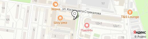 Магазин художественных товаров на карте Королёва