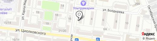 Долголет на карте Королёва