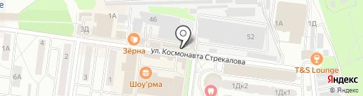 Киоск бытовых услуг на карте Королёва
