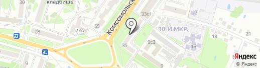 Аварийная служба по ремонту лифтов на карте Старого Оскола
