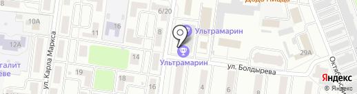 Велесъ на карте Королёва