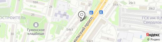 Банкомат, Ханты-Мансийский банк Открытие, ПАО на карте Старого Оскола