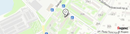 Дикси на карте Пушкино