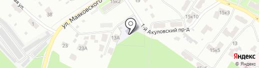 Детский сад №99 на карте Пушкино