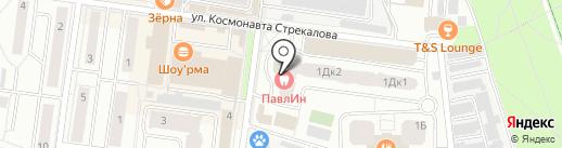 Лагрос на карте Королёва