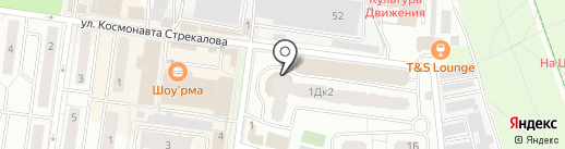 Проспект на карте Королёва