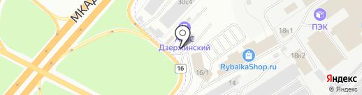 ШАНТО на карте Дзержинского
