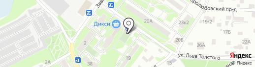 Твой кондиционер на карте Пушкино