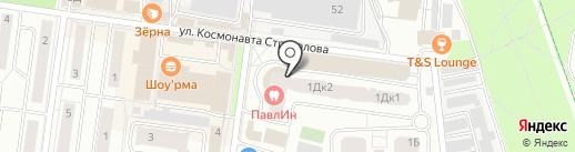 Тенториум на карте Королёва