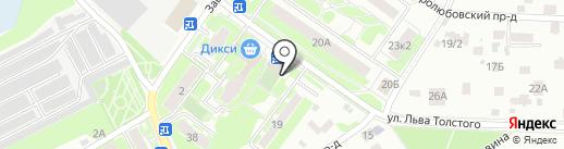 СИАД на карте Пушкино