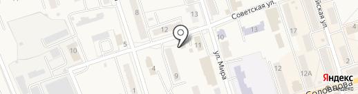 Центральный на карте Болохово