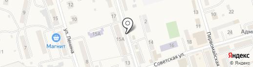 Тандем на карте Болохово