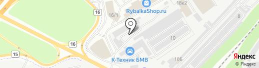 ВЕСТА-СФ на карте Дзержинского