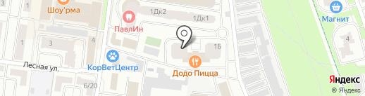 Гагарин на карте Королёва
