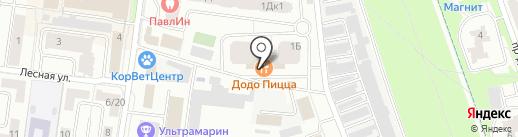 Космодромик на карте Королёва