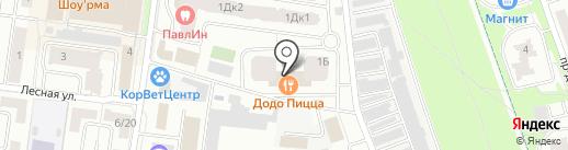 Forest club на карте Королёва