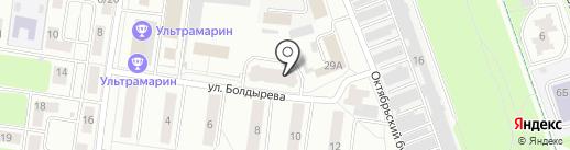 Грануччи на карте Королёва