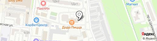 На Фрунзе на карте Королёва