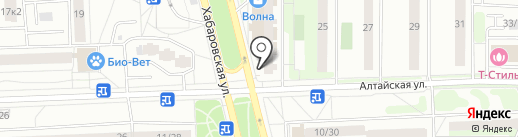 На углу на карте Москвы