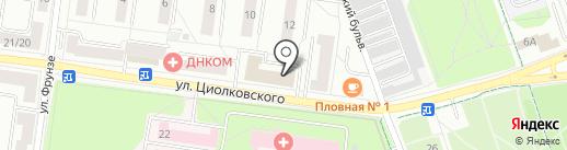 Территории рекламы на карте Королёва