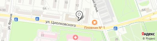 Банкомат, АКБ Абсолют банк, ПАО на карте Королёва