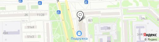 Натуральное хозяйство на карте Москвы