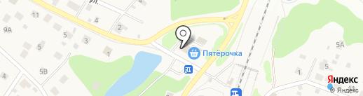 Магазин разливного пива на карте Пушкино