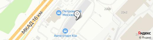 Авто-Старт на карте Дзержинского
