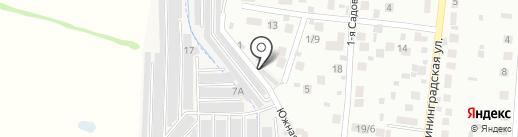 Южный на карте Королёва