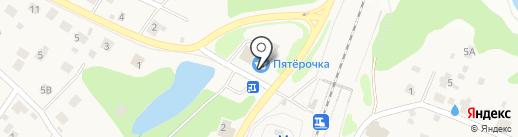 Бисер на карте Пушкино