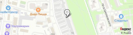 Гараж401 на карте Королёва