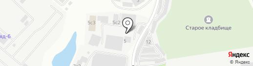 Сиела на карте Дзержинского